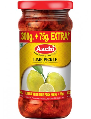 Aachi - Lime Pickle - 300g+75g