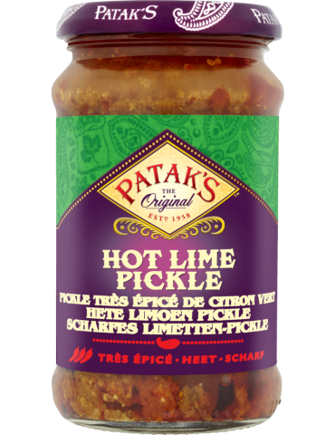 Patak's - Hot Lime Pickle...