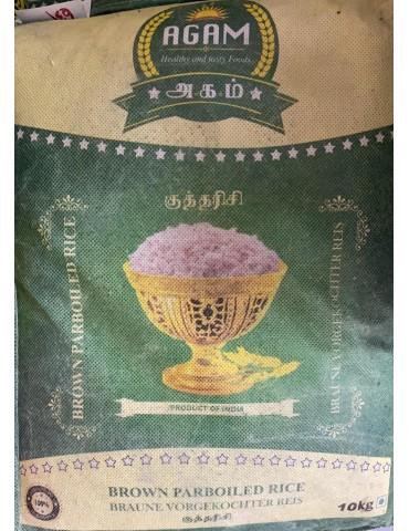 AGAM - Brown Parboiled Rice