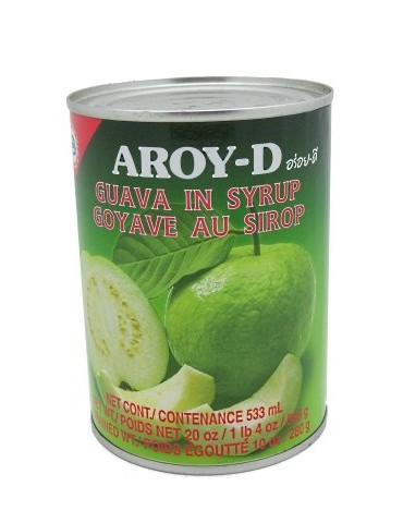 Aroy-D - Guava in Syrup - 565g