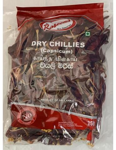 Rabeena - Dry Chillies...