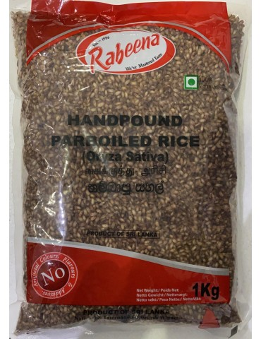 Rabeena - Handpound Parboiled Rice (Oryza Sativa)