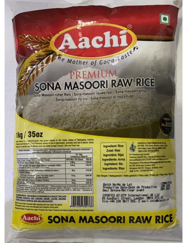 Aachi - Sona Masoori Raw Rice