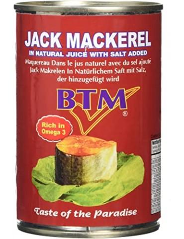 BTM - Jack Mackerel in Natural Juice with Salt Added - 425g