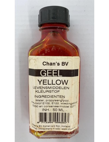 Chan's BV - Geel Yellow...