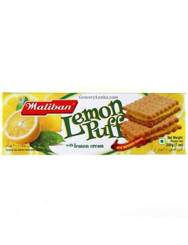 Maliban - Lemon Puff - 200g