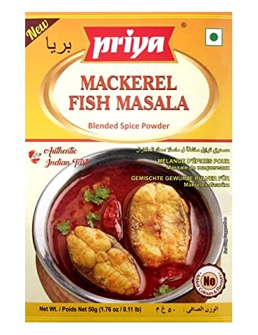 Priya - Mackerel Fish Masala